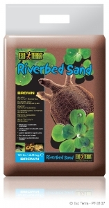 Exo Terra - Riverbed Sand 4.5kg Brown
