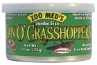 Zoo Med Can O' Jumbo Grasshoppers 35g